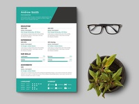 Free Photographer Curriculum Vitae template