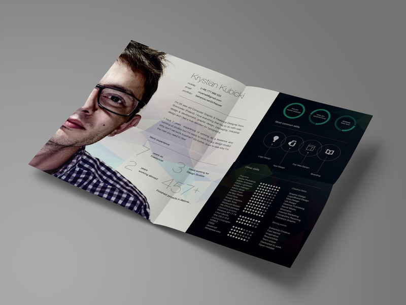 Free Landscape Curriculum Vitae Template By James Han On