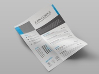 Free Clean and Modern Curriculum Vitae Template