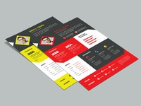 Free Multicolor Resume Template