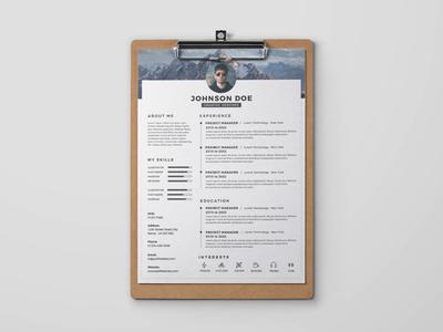 Free Timeline Resume Template (FREEBIE)