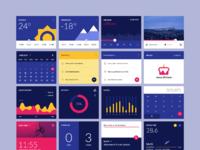 Material design widgets ui kit