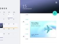 Material Calendar
