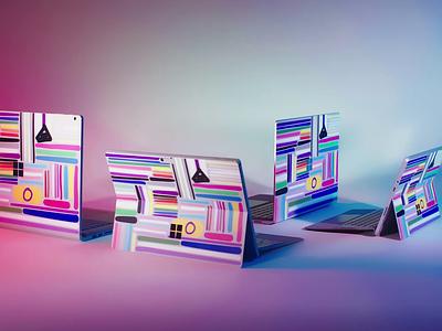 Pride 2020 Gear lgbtq octanerender cinema4d animation motiongraphics xbox design microsoft