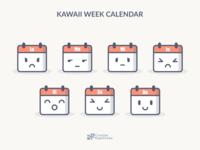 Kawaii Calendar V1