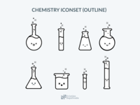 Icon Chemistry Outline