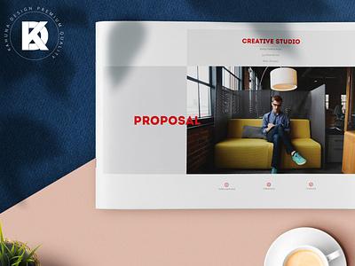 Project Proposal (Landscape version) catalog business elegant clean kahuna letter proposal project minimal a4 indesign brochure