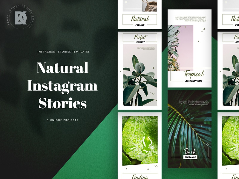Natural Instagram Stories