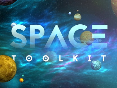 FREE Space Toolkit download discount free mockup spaceman unique musk moon earth discovery planet nebula stars space