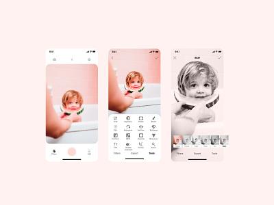 Photo Editor app editor photoapp photo ios design uidesign uxdesign web mobiledesign app