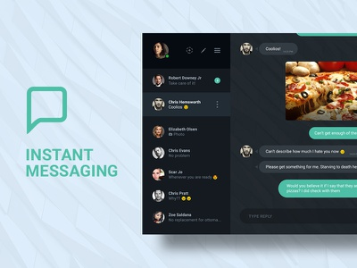 DailyUI#013 Instant Messaging App whatsapp instant messaging app design ux ui dailyui