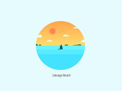 Zabagyi Beach