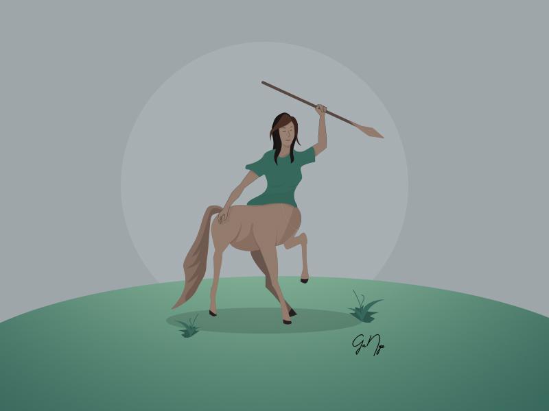 Centaur design vector illustration