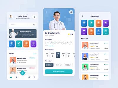 Medical Mobile Apps doctor designapps medicalapps uidesign uiux branding ui clean exploration design