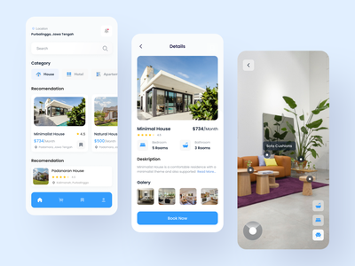 Real Estate Apps ux productdesign mobileapps realestate uidesign uiux ui clean exploration