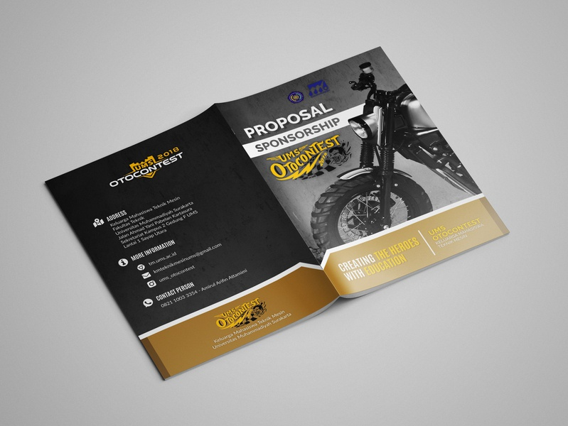 Proposal Sponsorship Design booklet design design branding graphic design print design layout design sponsorship proposal