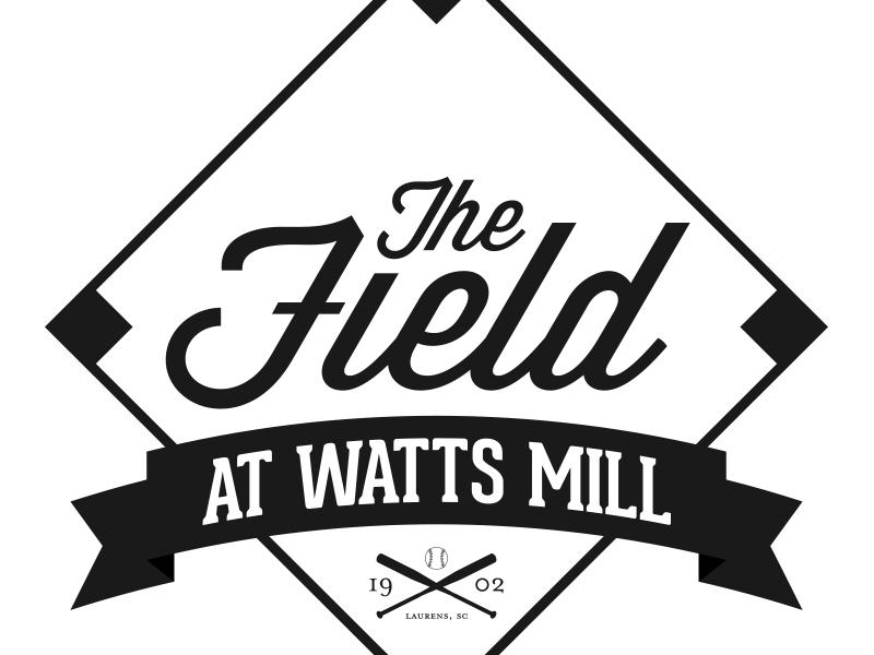 The Field at Watts Mill baseball field laurens sc
