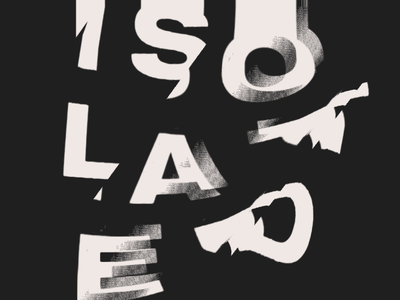 Type Distortion 2 typography type text shaders glitch abstract
