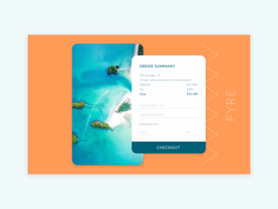 Daily UI - Checkout Page