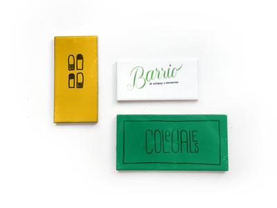 Branding | Colegiales Neighborhood calligraphy personal hood branding