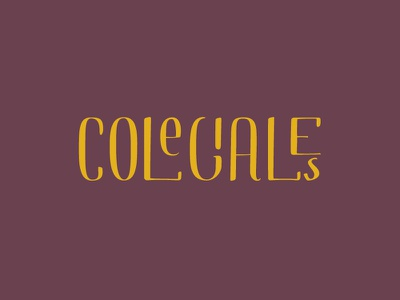 Branding | Colegiales Neighborhood personal hood calligraphy branding
