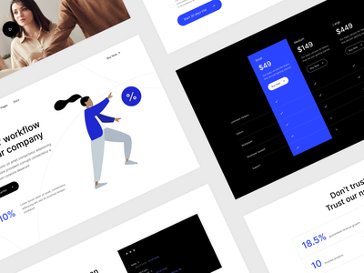 SAAS Landing template creative features pricing bootstrap landing page service saas landing page saas