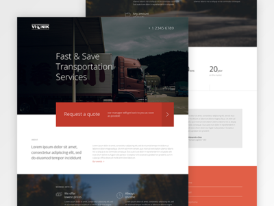 Logistics designs themes templates and able