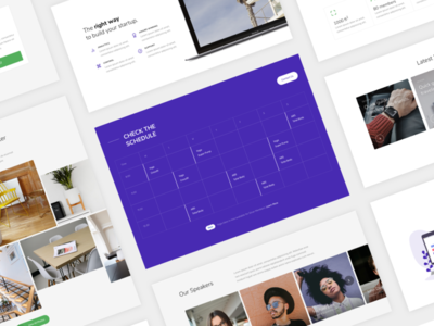 Go - Multipurpose Template