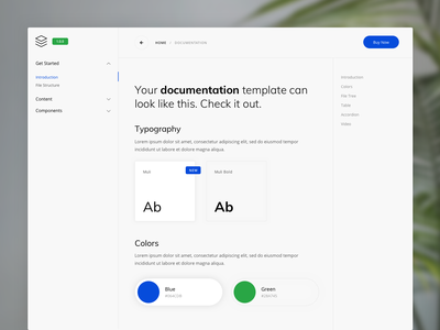 Online Documentation Template minimal clean documentation template html bootstrap design guide guidebook docs guide documentation