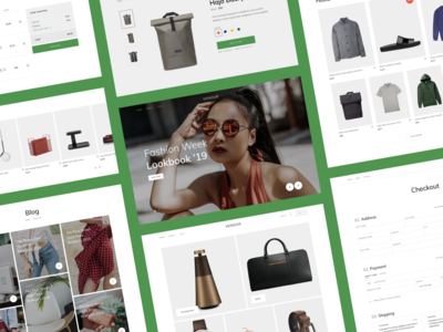 Vendor - E-Commerce Bootstrap Template