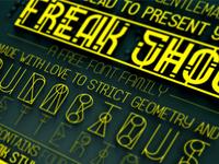 Freak Show Font Family