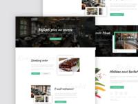 Restaurant Plaudit Liberec Webdesign