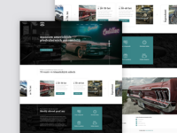 Old Car Museum Webdesign