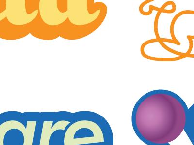Vector Gowalla & Foursquare logos vector