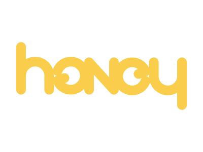 Honey Ambigram Logo - Rebound