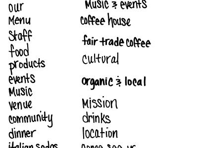 One Love People Coffeehouse - logo sticker package design illustrator custom font handletter bob marley coffee shop coffeehouse