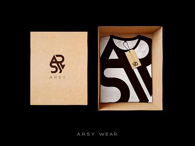 ARSY WEAR графический дизайн студия дизайна брендинг дизайн photoshop logo