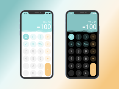 004 Calculator mobile calculator ui dailyui004 dailyui