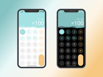 004 Calculator mobile calculator ui dailyui004 dailyui