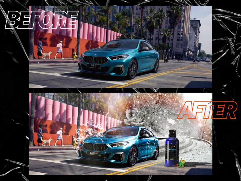 BMW Photo Manipulation