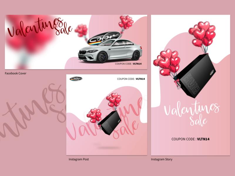 Valentines Sale Social Media Post