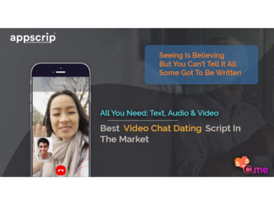 The best video chat dating app script in the market