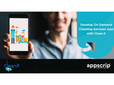 Develop an on-demand cleaning app with clean-it