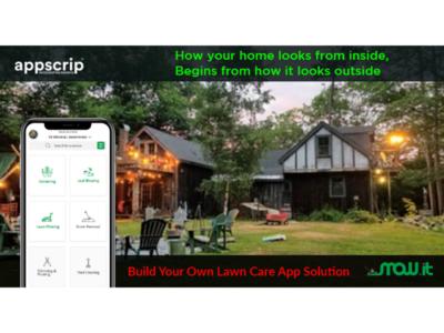 Build your own lawncare app solution