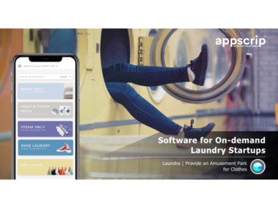 Software for On-demand Laundry Startups