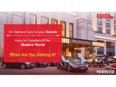 On-demand car services for hoteliers of the modern world