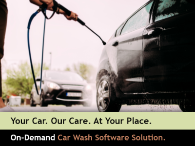 On-Demand Car Wash Software solution