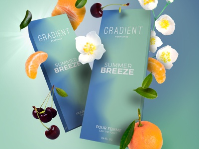 Gradient Perfumes : SUMMER BREEZE perfumery