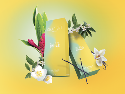 Gradient Perfumes : Secret Smile