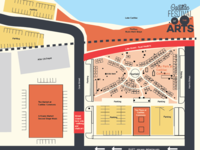 Cadillac Festival of the Arts Vendor Map